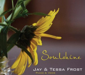 Cover of Inspirational album Soulshine by Jay and Tessa Frost